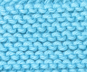 Knitting Basic Purl Stitch Continental Method : Texture of the Week ?   it takes balls to knit!